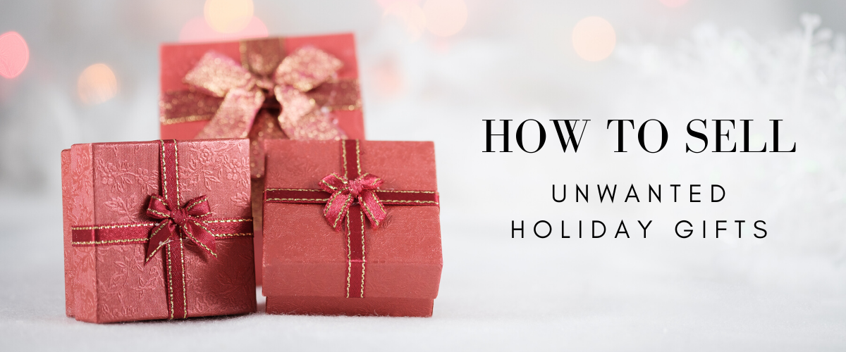 sell unwanted holiday gifts