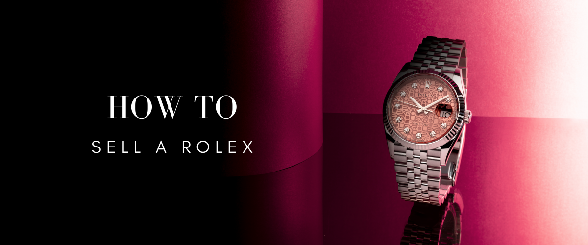 how to sell a rolex watch
