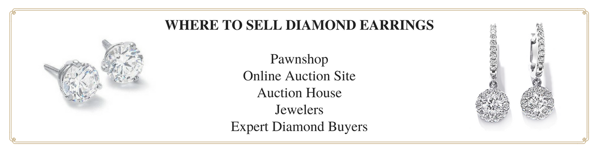 how to sell diamond earrings
