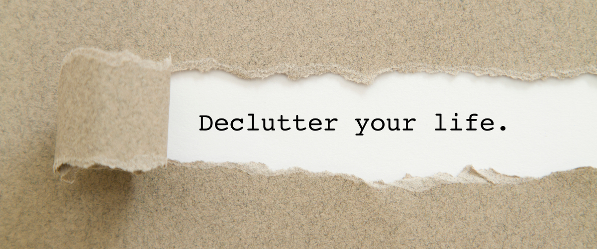 tips to declutter