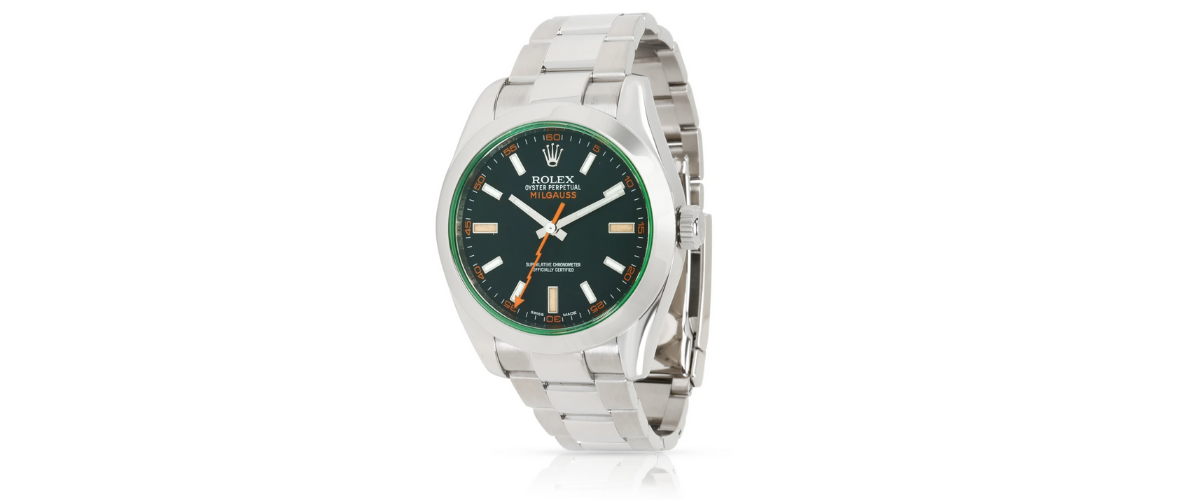 Rolex Milgauss- most popular rolex watches