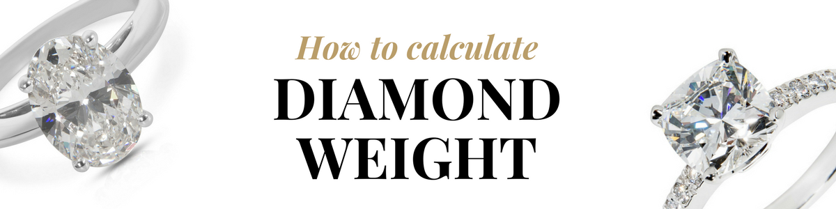 how to calculate diamond weight