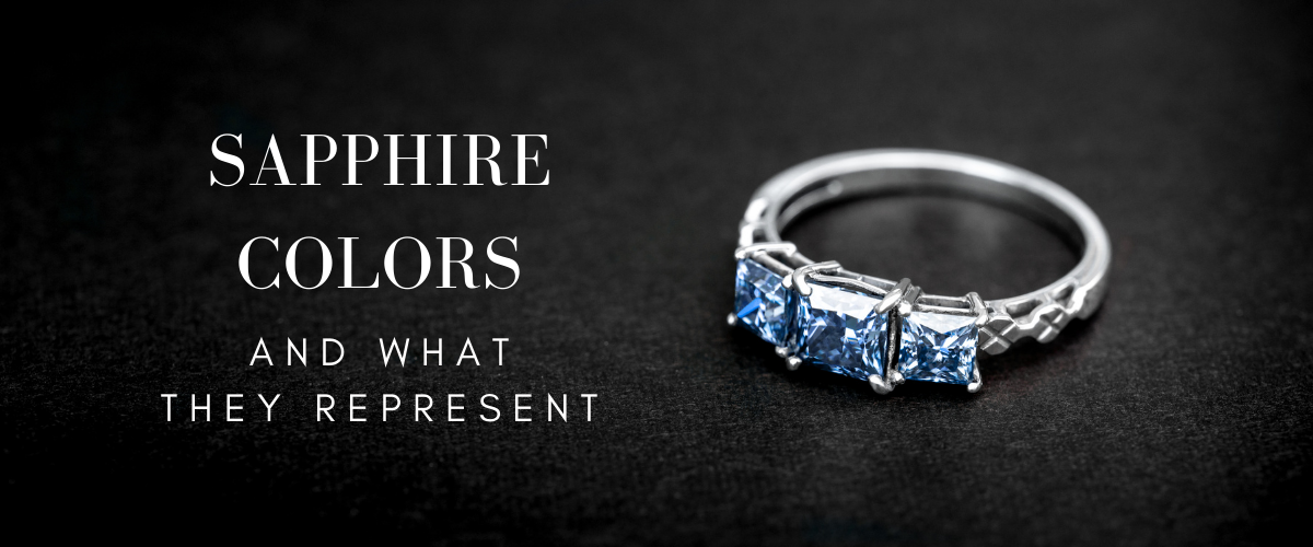 what sapphire colors represent