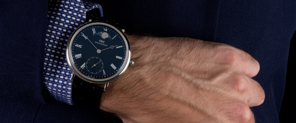 expensive IWC watch