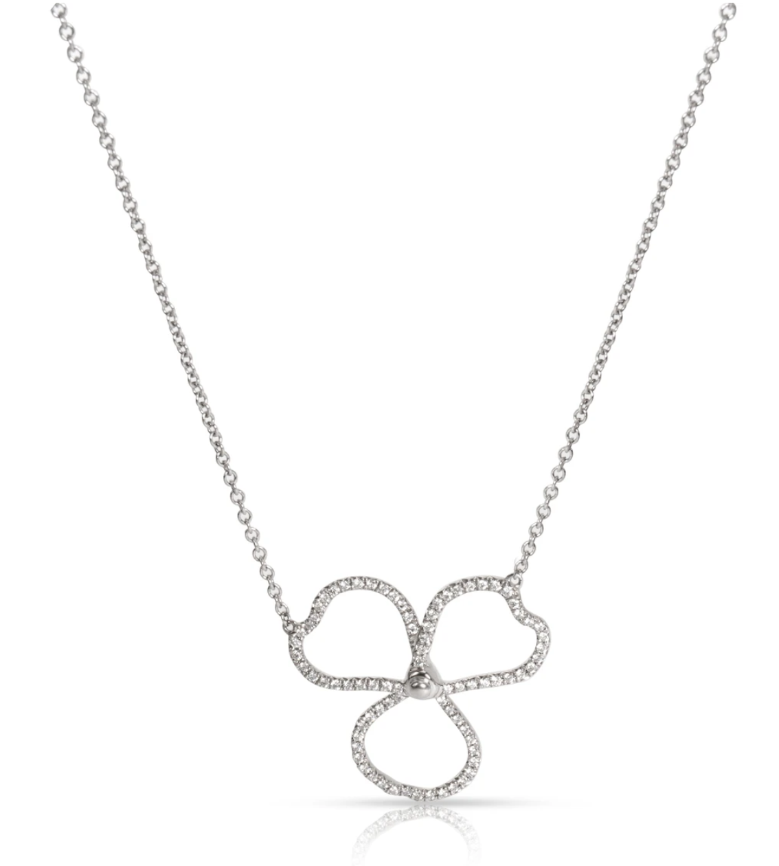 Tiffany & Co. Paper Flowers necklace