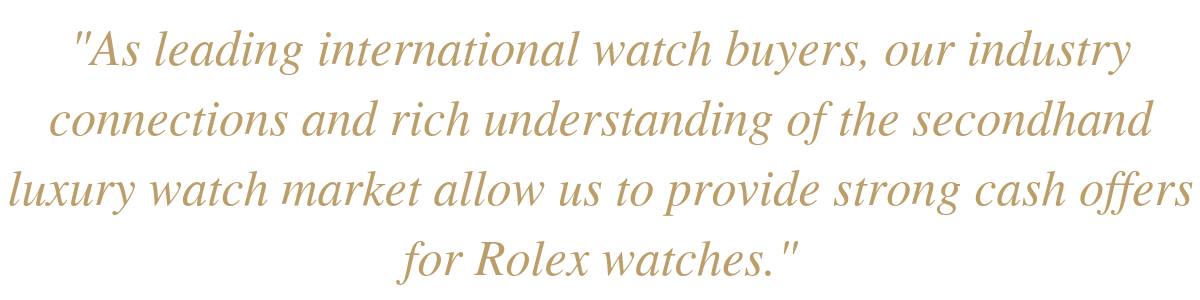 Where to Sell Rolex Watches in Canada - WP Diamonds