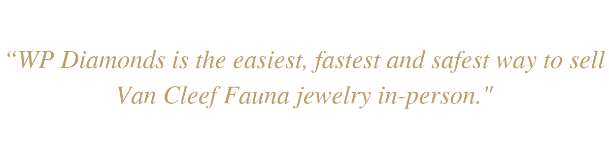 Sell Van Cleef Fauna Jewelry