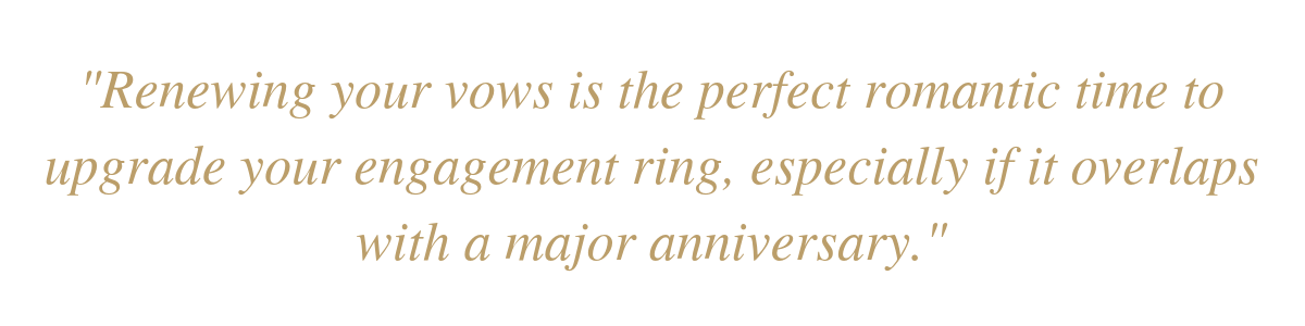 When Should you Upgrade your Engagement Ring?