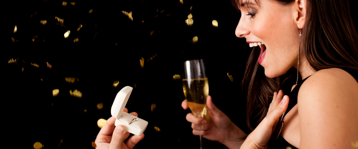 the most popular times of the year to get engaged