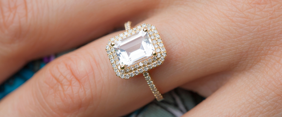 how to take care of an engagement ring