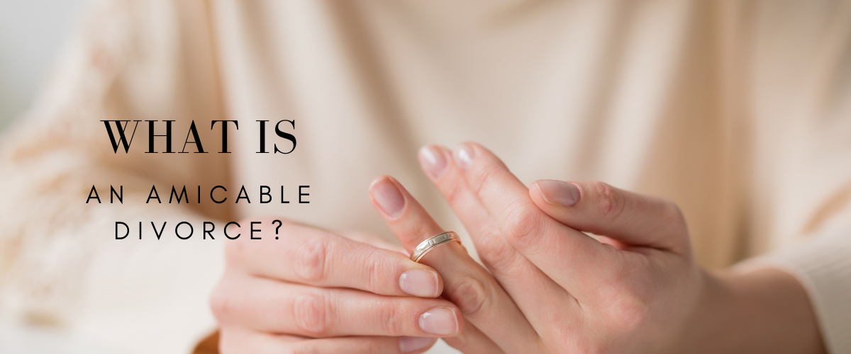 what is an amicable divorce?