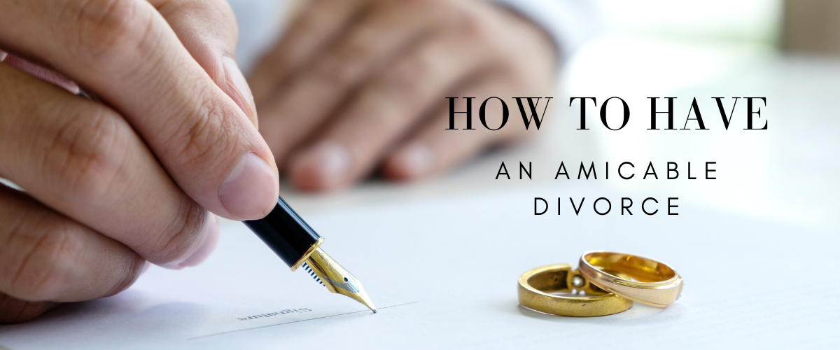 steps to an amicable divorce