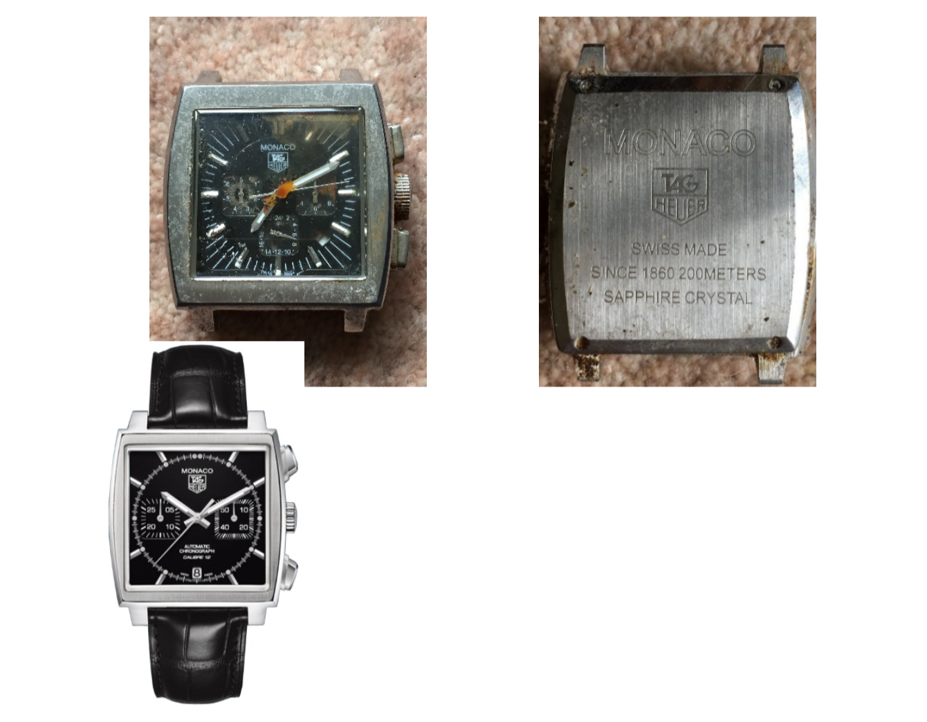how to spot a real tag heuer watch