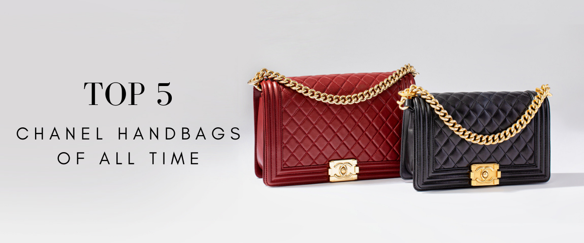 top 5 chanel handbags of all time
