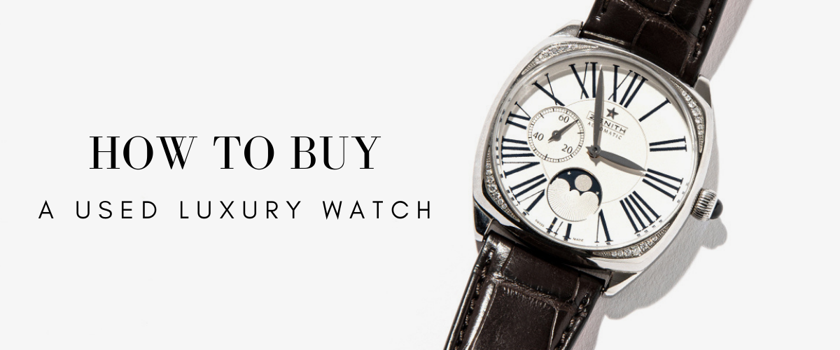 how to buy a used luxury watch