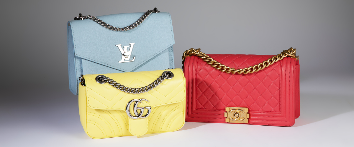 how to shop resale luxury goods