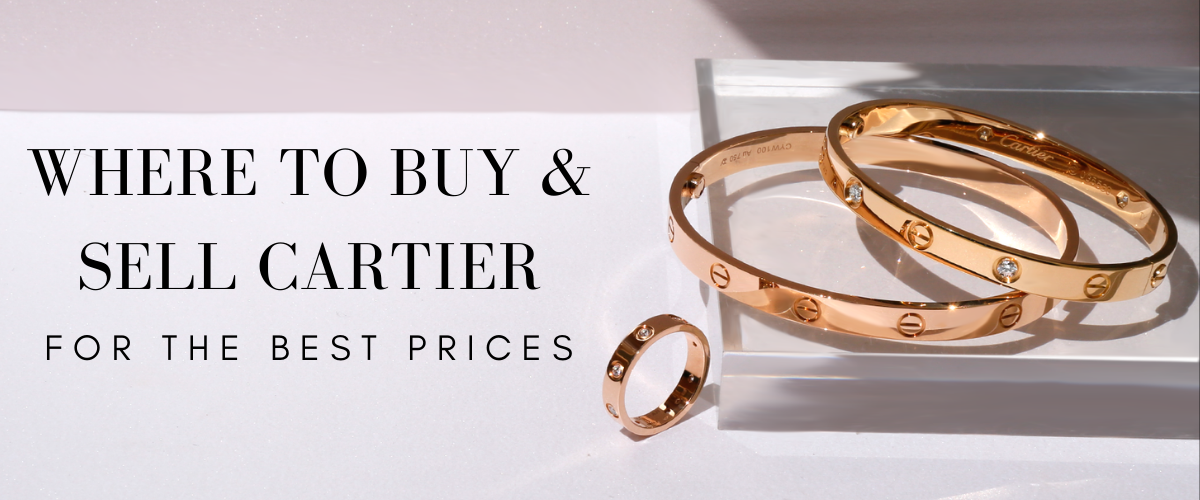 Buy and Sell Cartier Jewelry for the best prices